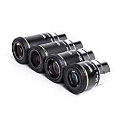 """High-quality, affordable 15mm telescope eyepiece offers a wide field of view and superior performance at a bargain price. Generous 14.8mm eye relief allows comfortable viewing distance and lets eyeglass wearers see the entire field of view. Wide 66-..."