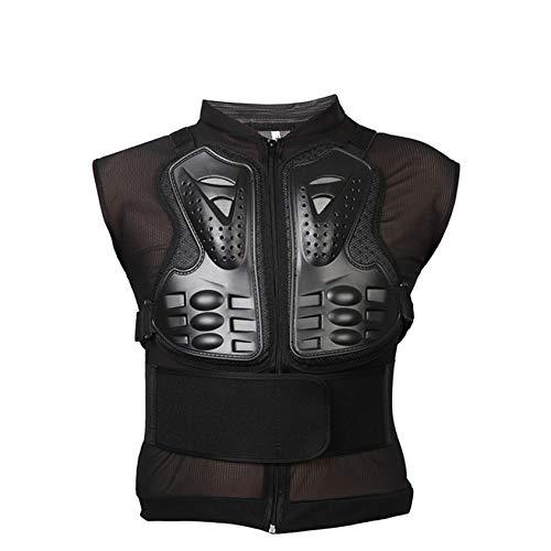 Massage-AED Armadura Motocross Hombre, Moto Sports Body Armor Chaqueta Chaqueta Street Sport Motocross Guard Racing Shirt Chaqueta Protectora para Off-Road Dirt Bike