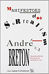 Surrealist Manifesto Book in English by Andre Breton