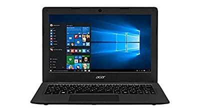 2016 Newest Acer Aspire One 11.6 inch Cloudbook ( Intel Celeron N3050, 2GB memory, 16GB eMMC, No DVD, Webcam, WiFi, HDMI, Bluetooth, Windows 10 ) - Mineral Gray