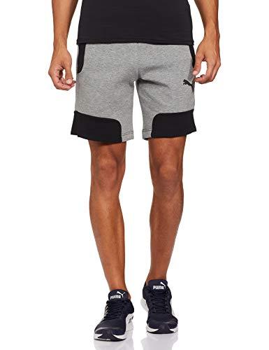 adidas Run It Pb, Pantaloni Corti Uomo, Grisei, M