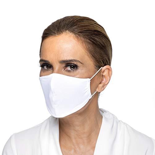 Guria Fashion Protective Cloth Face Mask, Washable Reusable Spandex Fabric - Unisex, 9 Colors Available