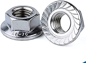 1/5/10 pcs Inch 1/4 5/16 3/8 1/2 6-32 8-32 10-24 Unc Amerika Grof Vorm Lock Metal Heavy Overheersend Koppel Flens Zeskantm...