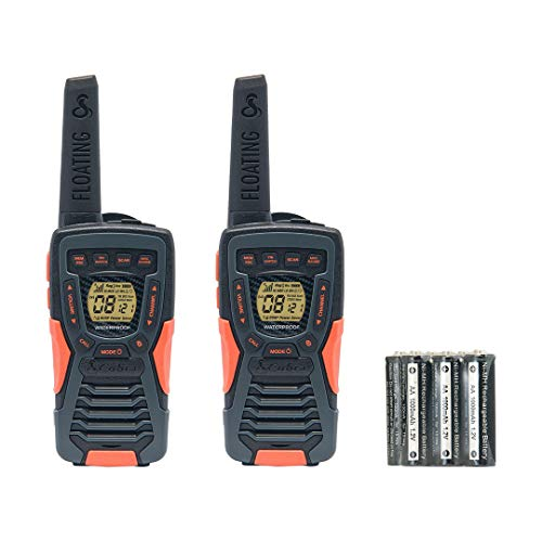 Cobra Electronics AM 1035 - Walkie Talkie con Linterna LED Incorporada, color negro
