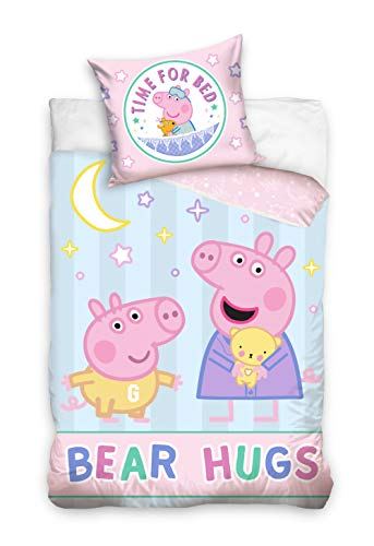 Peppa Pig Ropa de cama para bebé, 100 x 135 cm, PP195007-BABY