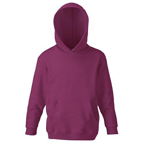 Fotl Kinder-Kapuzenpullover Gr. 10 Jahre, burgunderfarben