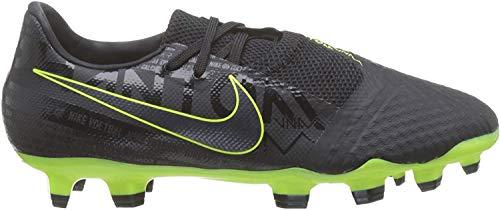 Nike Unisex-Erwachsene Phantom Venom Academy Firm-Ground Fußballschuhe, Schwarz (Black/Black-Volt 007), 44.5 EU