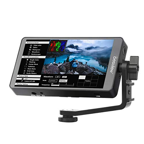 Desview S6 Plus 5.5' en la cámara táctil Ultra Sharp HDR Monitor de campo (entrada HDMI) 1920x1080 16:9 401ppi Pantalla de vídeo