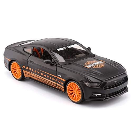 Modelo de coches para niños Modelo de simulación de coches, 01:24 simulación de fundición a presión de aleación de juguete modelo de coche, coche de colección de los amantes de la joyería, la decoraci