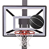 Silverback Junior Youth 33' Basketball Hoop with Lock 'n Rock Mounting Technology Mounts to Round and Vertical...