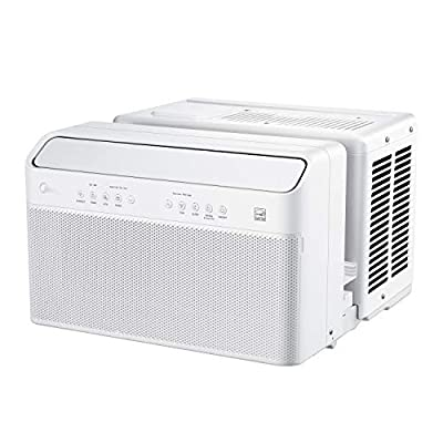 Midea U Inverter Window Air Conditioner 8,000BTU, The First U-Shaped AC with Open Window Flexibility