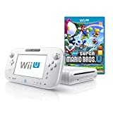 Wii U 8GB Basic Set Console + New Super Mario Bros. U - White (Nintendo Wii U)