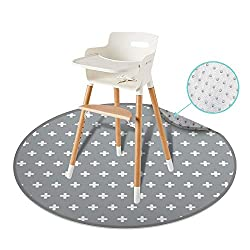 cheap 54 ″ REIGNDROP Splat Large Highchair Mat Playmat Picnic arts and crafts for babies and kids …