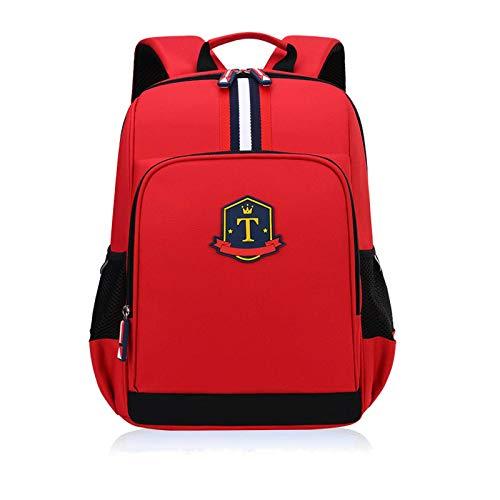 Mochila escolar para estudiantes de escuela primaria de 136 grados, mochila para niños, bandolera protectora para la columna