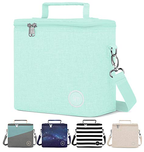 Simple Modern Insulated Adult Lunch Bag Tote Reusable Meal Container for Women, Men, Work, 4L Blakely, Seaside