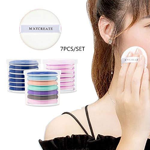 7pcs / set ultra-doux maquillage fondation éponge air coussin de poudre pour l'application de BB crème, crème liquide, ombrage poudre