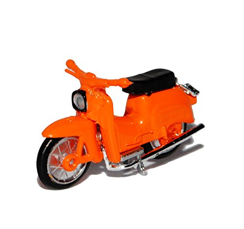 Herpa Simson KR 51/1 Schwalbe Orange DDR H0 1/87 Modell Motorrad
