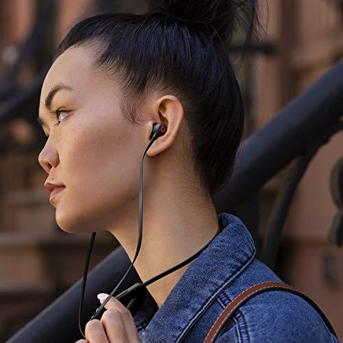 BeatsFlexワイヤレスイヤホン–AppleW1ヘッドフォンチップ、マグネット式イヤーバッド、Class1Bluetooth、最大12時間の再生時間-Beatsブラック