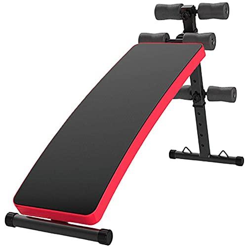 YAJIAN Banco de entrenamiento ajustable, máquina de ejercicios de placa supina, vitalidad...