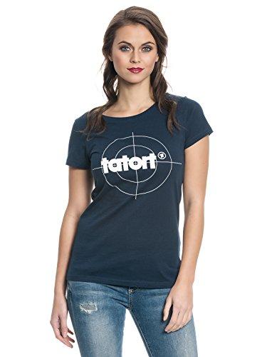 Tatort Classic Girl Shirt Marine, Größe:L