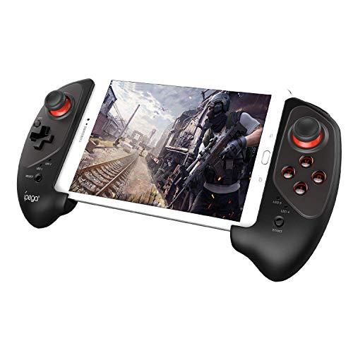 【ipega公式製品】ipegaPG-9083S伸縮性のゲームパッドBluetoothワイヤレスコントローラースマホiOSAndroidテレビPCiPhone支持コントローラー日本語説明書