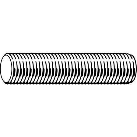 Fabory U55067.019.1200 Threaded Rod, 10-32, Stainless Steel, Plain Finish, 1