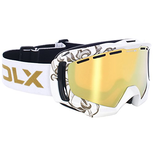 Trespass - Gafas para deportes de nieve Modelo Goldeneye DLX Ski unisex...
