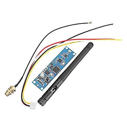 Condensadores Controlador DMX512 Etapa DC 5V 2.4G 2 en 1 receptor inalámbrico y TransmitterPCB Junta Módulo LED de luz LED con la antena 126 canales, 7 grupos de códigos de identificación Comunicación