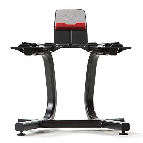 ボウフレックス(Bowflex) 可変式ダンベルラック SelectTech Stand with Media Rack(セレクトテック スタンド メディアラック)