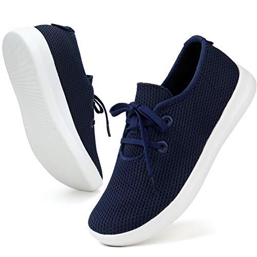ZHR Sneaker Damen Mesh Leichte Classic Lace up Schuhe Marine EU36