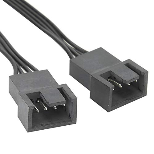 WNSC Cable Divisor de 1 a 2, Plug and Play 3 Piezas 1007 26AWG Cable de computadora para Placa Base