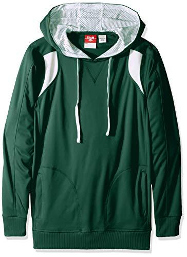 AquaGuard Herren TM36-TT30-Chef Designs Elite Performance Hoodie Sweatshirt, Weicher rosafarbener Wald/Weiß, Mittel