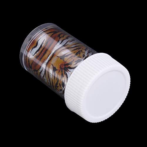 12 stijlen 1 set Roll Fashion Nail Art Transfer Wrap folie Sticker Manicure decal decoratie DIY DesignerMulticolor