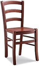 ZStyle Krzesło Venezia drewno orzech restauracja słoma agrituryzm kuchnia dom klasyczna sztuka (masywne)