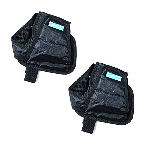 Wheelchair Shoe Holder Straps Safety Restraint Shoes Keep Feet from Sliding Off The Wheelchair Pedals Foot Rests for Elderly Patient (1 Pair)