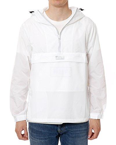HUF Herren Sequoia Anorak Jacke - Weiß - XX-Large