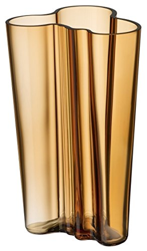 Iittala 1015405 Alvar Aalto Collection Vase, 201 mm, Desert Braun