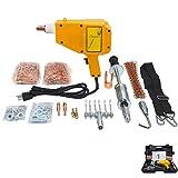 HTTMT- Spot Stud Dent Welder Kit 1600A 110 V Car Dent Puller w/Muti-Hook Weld Meson Pads [P/N: ET-CAR-FIX001-RAW]