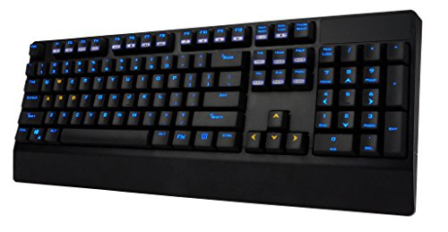 Mechanical Gaming Keyboard Brown Switch - LED Backlit Full Mechanical Keyboard with 104 Keys