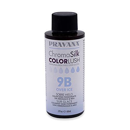 Pravana ChromaSilk ColorLush Demi Gloss - Over Ice / 9b