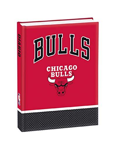 DIARIO SCUOLA NBA Chicago Bulls 2020/21 + OMAGGIO PENNA GLITTERATA E SEGNALIBRO
