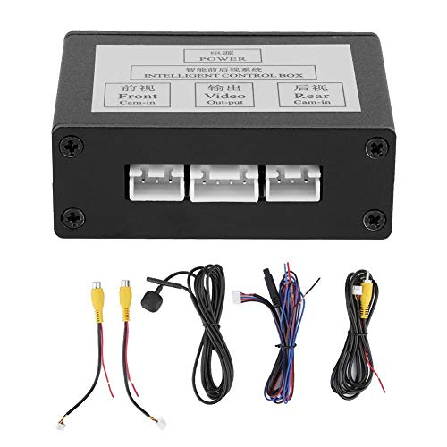Car Front View Camera Switcher, Smart Car Parking Camera Converter Front...