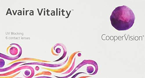 Avaira Vitality spheric, Monatslinsen weich, 6 Stück / BC 8.4 mm / DIA 14.2 mm / -2.25 Dioptrien
