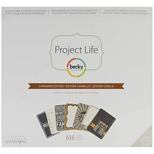 Project Life Core Kit - Cinnamon Edition