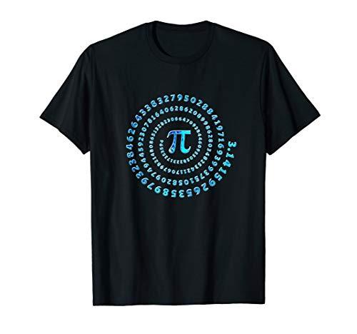 Pi Spirale Mathematik Formeln 3,14 Zahl Day Infinity T-shirt T-Shirt