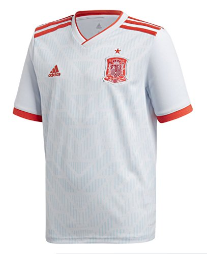 adidas Spain Away Youth Soccer Jersey World Cup Russia 2018 (YL)