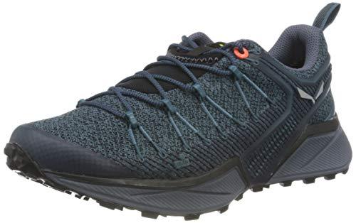 Salewa WS Dropline Zapatillas de trail running, Mallard Blue/Grisaille, 38.5 EU