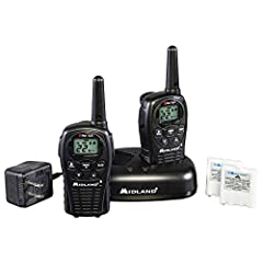 2-WAY RADIOS - These walkie-talkies feature 22 FRS (Family Radio Service) channels, along with channel scan to check for activity 24-MILE RANGE - Longer range communication in open areas with little or no obstruction DUAL POWER OPTIONS - Use recharge...