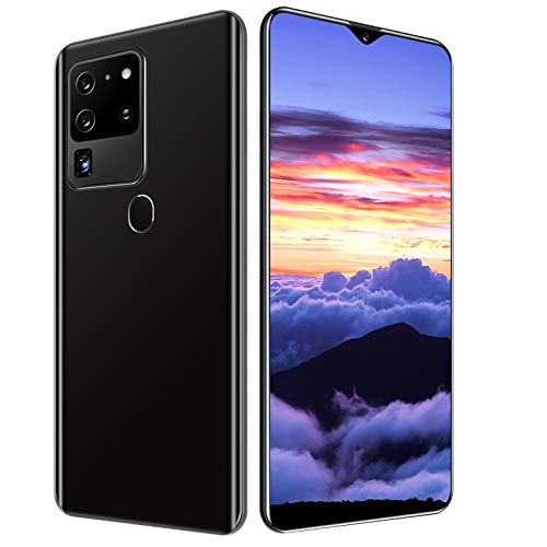 4Gスマートフォン本体 6.8 FHD+水滴スクリーン SIMフリー スマホ 本体8GB RAM+128GB ROM 18MP+32MPカメラ 4800mAh オクタコア グローバルバージョン 顔認証 指紋認証 技適認証済