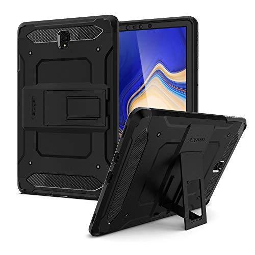 Spigen Tough Armor TECH Designed For Samsung Galaxy Tab S4 10.5 Case (2018) - Black
